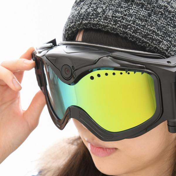 フルHDカメラ搭載スキーゴーグル
